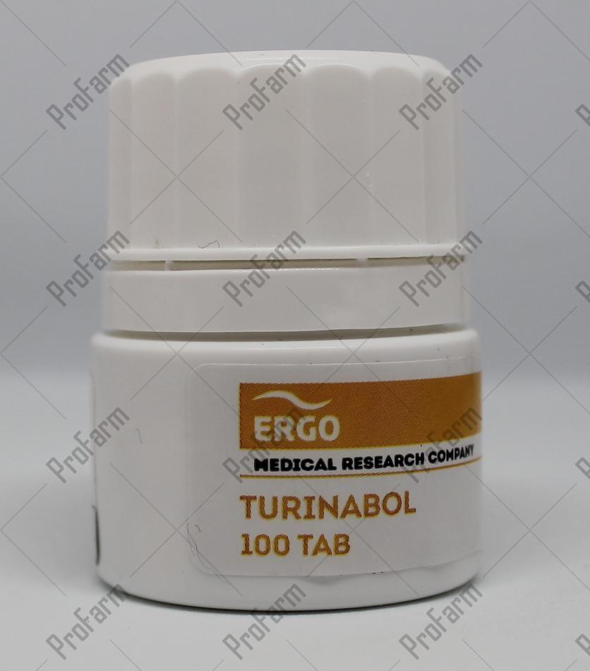 ERGO TURINABOL 10MG/TAB - ЦЕНА ЗА 100ТАБ
