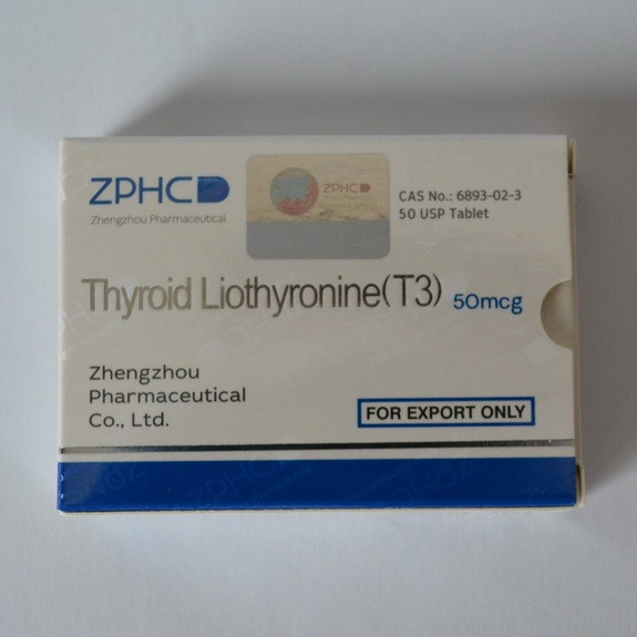 Thyroid Liothyronine (T3) 50mcg/tab - цена за 25 таблеток.