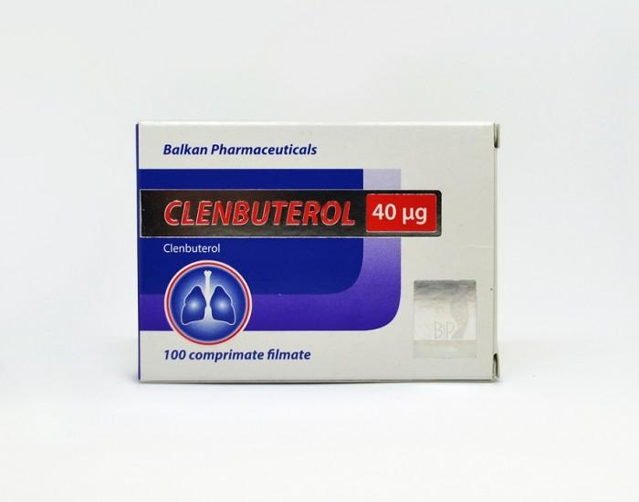 Clenbuterol 40мкг\таб - цена за 100 таб.